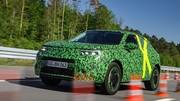 Nouvel Opel Mokka : premières images encore camouflé !