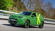 Le nouvel Opel Mokka rentre dans sa dernière phase de développement