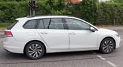 Les premières photos de la future Volkswagen Golf 8 SW