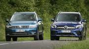 Essai comparatif : le Mercedes GLB défie le Volkswagen Tiguan Allspace