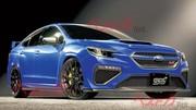 De nouvelles images de la future Subaru WRX STI 2022