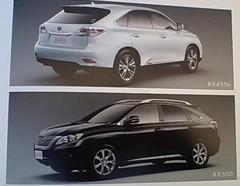 Les premières photos du nouveau Lexus RX !