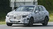 Les premières photos du prochain Mercedes GLC 2022