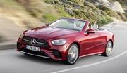 Mercedes Classe E Coupé et Cabriolet (2020) : restylage léger