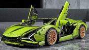 La Lamborghini Sian rejoint la Bugatti Chiron chez LEGO