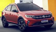 Volkswagen Nivus : le T-Cross coupé dévoilé au Brésil