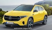 Nos premières images des Mercedes EQA et EQB