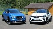 Comparatif vidéo - Nissan Juke VS Renault Captur : pionnier contre référence