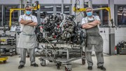 Bentley a construit son dernier V8 6 3/4
