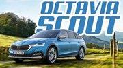 La nouvelle Skoda Octavia Combi est également en SCOUT