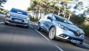 Les Citroën C4 Spacetourer et Renault Scénic en sursis