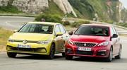 Essai comparatif : la Volkswagen Golf 8 défie la Peugeot 308