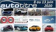 Résumé Auto Titre du 8 au 13 juin 2020