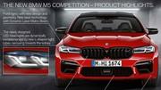 BMW M5 Competition : la révision de Motorsport pour 2020
