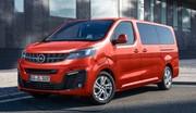 Opel Zafira Life : il devient électrique, prix dès 53 450 €
