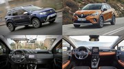Dacia Duster contre Renault Captur : Le match avec mesures
