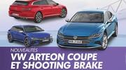 Volkswagen Arteon (2020). Les photos du coupé et du Shooting Brake
