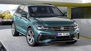 Volkswagen Tiguan (2021) : les photos et infos du SUV compact restylé