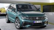 Le Volkswagen Tiguan GTE hybride rechargeable aura 245 ch