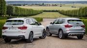 Essai BMW X1 et X3 hybrides rechargeables 2020 : le poids des batteries