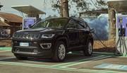 4xe : Jeep présente les Renegade et Compass Hybrides rechargeables
