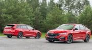 Skoda Octavia RS : motorisations à la carte