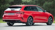La Skoda Octavia RS est disponible en goût essence, Diesel ou hybride