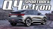 AUDI Q4 Sportback e-tron : coup de foudre d'Ingolstadt