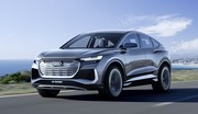 Audi Q4 Sportback e-tron concept : melting-pot sous tension !