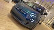 Premier contact avec la nouvelle Fiat 500 électrique