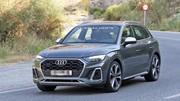 L'Audi SQ5 restylé se montre sans camouflage