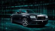 La Rolls-Royce Wraith Kryptos fait des cachotteries