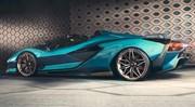 La Lamborghini Sián enlève le haut