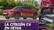 La nouvelle Citroën C4 (2020) en détail