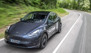 Notre premier contact exclusif de la Tesla Model Y en France