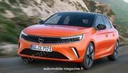 Notre première image de la future Opel Corsa restylée