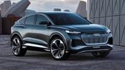 Audi Q4 Sportback e-tron Concept, 306 ch et 500 km d'autonomie