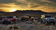 Les nouveaux Ford Bronco et Bronco Sport s'attaquent au Jeep Wrangler