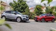 Comparatif - Ford Kuga PHEV VS Opel Grandland X Hybrid 225 : duel branché