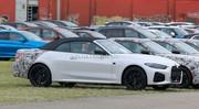 La future BMW Série 4 cabriolet presque sans camouflage