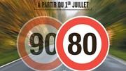 Les 80 km/h sauvent moins de vies que prévu