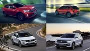 Le Volkswagen Nivus face aux T-Cross et T-Roc
