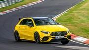 Essai extrême : la Mercedes-AMG Classe A 45 S au Nürburgring
