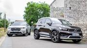 Essai DS7 Crossback E-Tense vs Volvo XC40 T5 Recharge : lutte des classes