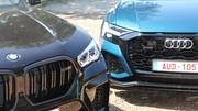 Essai Audi RS Q8 vs BMW X6 M Competition : la gueule de l'emploi !
