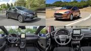 Match : la Renault Clio 5 face à la Ford Fiesta