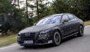 Mercedes Classe S : avec airbags frontaux arrière en primeur