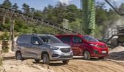 Opel lance les Combo et Vivaro en transmission intégrale