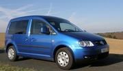 Essai Volkswagen Caddy TDi 105 FAP BlueMotion : Sérieuse antinomie