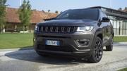 Essai Jeep Compass 4xe (2020) : un peu d'électricité pour une remonatada espérée